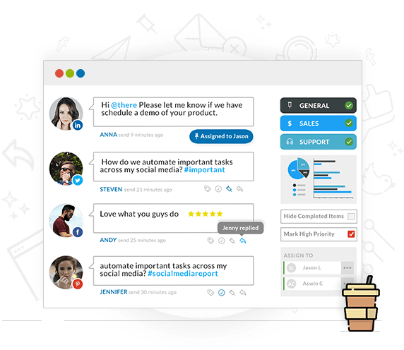 SMM - Smart Inbox for Social