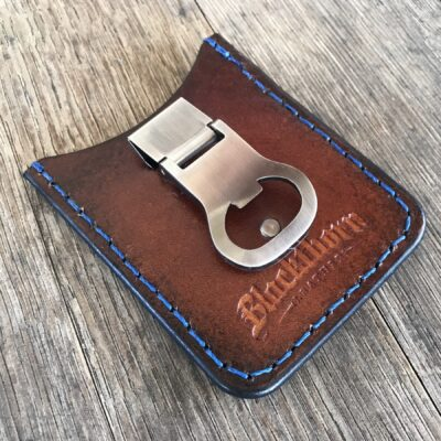 Leather Wallet  – THE ROVER: MINIMALIST CREDIT CARD WALLET AND MONEY CLIP