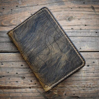 NOTEBOOK – TOPOGRAPHIC MAP Leather Field Notes Cover