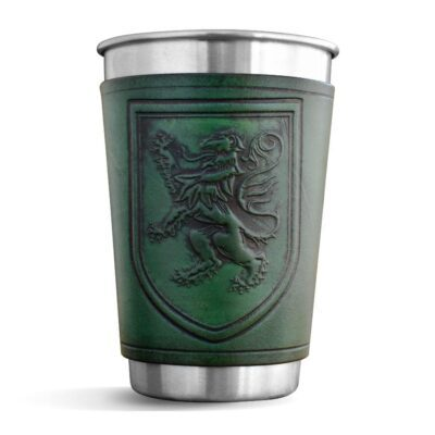 Pint – Leather Wrapped Pint – LION RAMPANT