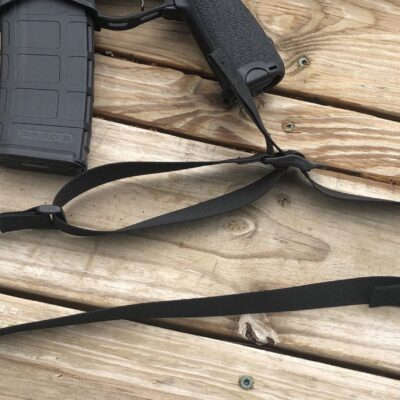 Gun Sling – Multipoint 1 to 2 Point convertible rifle sling – qd swivel
