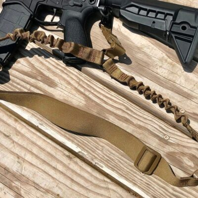 Gun Sling – Single point sling – Rifle harness – Snap Clip points