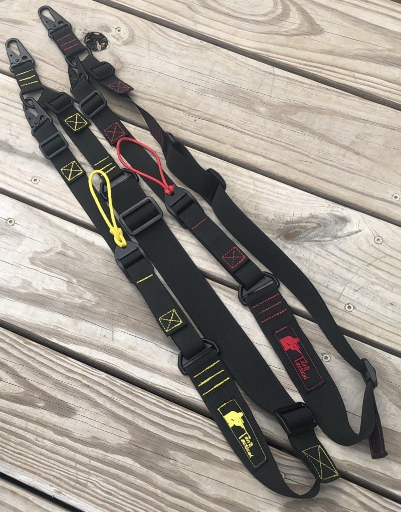 Wide 2 to 1 convertible sling with color stitching rifle sling rifle harness tactical sling