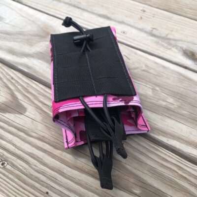 Mag Pouch  – PINK CAMO – 2 magazine holder –  Molle
