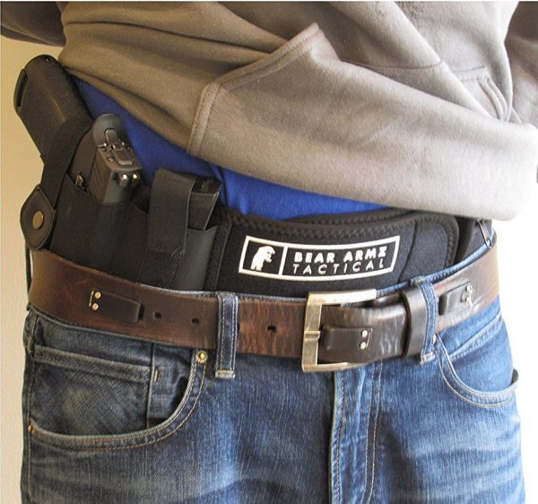 Bear Armz Tactical Belly Band Holster Right Hand Orientation