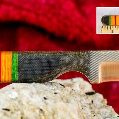 Fighter Knife – Anza Knives -110 NAM 2 M File Blade